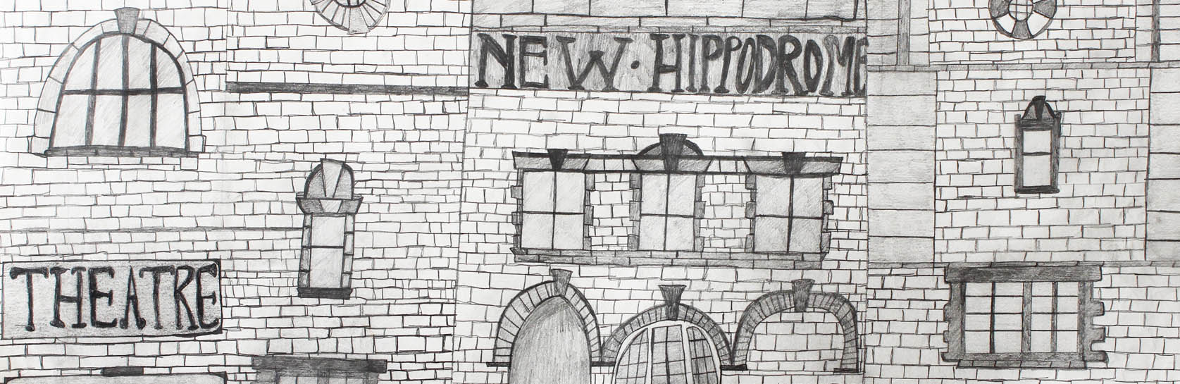 An artistic interpretation of the Hippodrome!