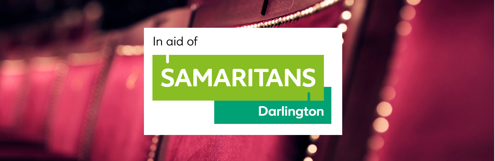 Darlington Hippodrome staff have selected Darlington Samaritans as their new annual charity partner