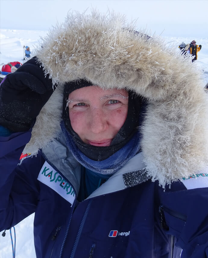 Felicity Aston MBE - Polar Exposure: The Women's Euro-Arabian North Pole Expedition