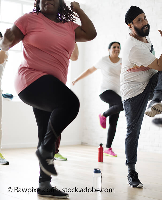 Dance Fitness with Debbie on the stage (16+)