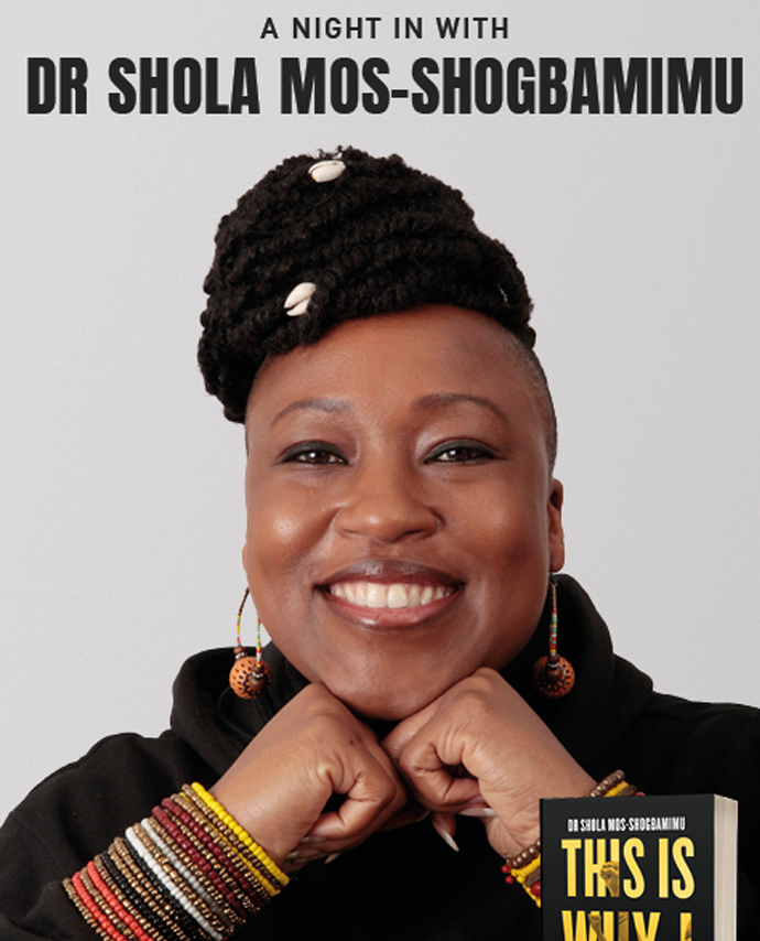 A Night in with Dr Shola Mos-Shogbamimu