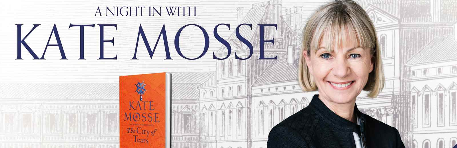 A Night in with Kate Mosse