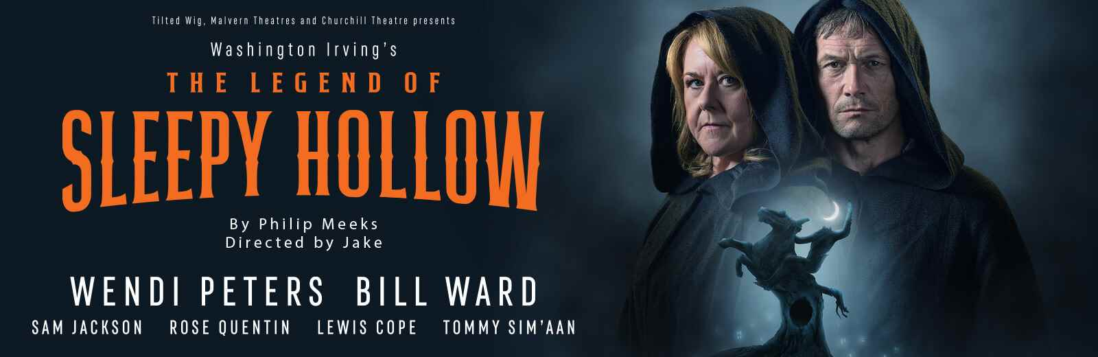 Touch tour for the visually impaired: The Legend of Sleepy Hollow